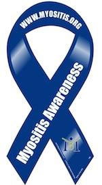 Myositis Awareness Ribbon