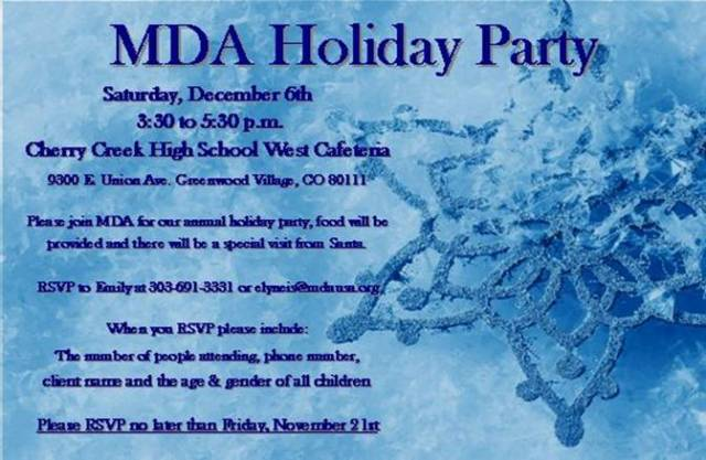 MDA Holiday Party