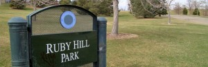 Ruby Hill Sign